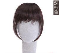 Wholesale Korea thin air bangs bangs Hair Extensions piece Korean invisible thin bangs false bangs Seamless volume