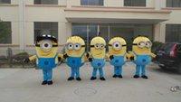 minion costume - New Special Minions Mascot Costume despicable me Cartoon mascot costume s m l xl xxl