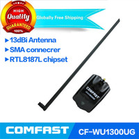 antenna power booster - Amplificador Wifi Gsm Signal Booster Long Range High Power Realtek Rtl8187l Comfast Network Usb Wireless Adapter dbi Antenna Cf ug