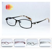 Wholesale 2016 new women men stainless steel gafas metal high quality eyewear classic style glasses frame colors