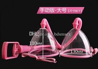 beauty supplies - Manual Vacuum Suction Breast Pump with Two Cup Physical Breast Massager Device Beauty Supply Sex Toys BI