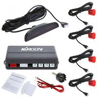 Wholesale Car LED Parking Sensor Assistance Reverse Backup Radar Monitor System Backlight Display Sensors colors K369