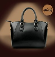 real leather handbags - 2015 new arrival European American Style luxury fashion embossing second floor series women real leather handbag brand single shoulder bag