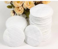 Wholesale 30pcs Maternal soft breathable cotton washable breast pads ecological cotton nursing pads avent bolsa maternidade