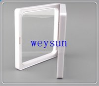 Wholesale DHL Freeshipping clear plastic membranes photo frame display collection box jewelry box x7x2cm