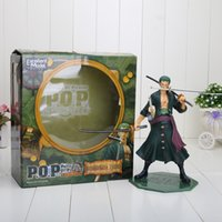 Multicolor anime - 9 Japanese Anime figure ONE PIECE Roronoa Zoro PVC figure