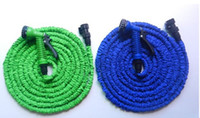 pocket hose - DHL FT Expandable Flexible Garden Water Pocket Hose With Spray Good Nozzle Head for Garden Irrigation