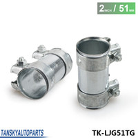 Wholesale Tansky High Quality mm O D quot Inch Exhaust Connector Coupler Sleeve Adapter Pipe Tube Joiner TK LJG51TG