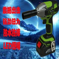 Wholesale 25V lithium rechargeable electric wrench wrench impact wrench scaffolders scaffolding installation tools rechargeable drill