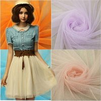 home decor fabric - 16 Color Costume Net Fabric Soft Gauze Encryption Mosquito Net Mesh Yarn Fabrics for Home Decor M Length Hot Sale net