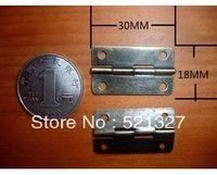 Wholesale 1 inch flat hinge antique wooden wine box small hole hinge MM fixed
