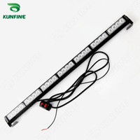 amber led flashlight - Car LED strobe light bar car warning light car flashlight led light bar high quality Traffic Advisors light bar KF L3032