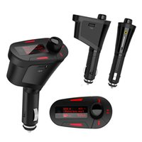 Wholesale Car Kit Bluetooth FM Transmitter MP3 Player Modulator Car Kit For LCD USB FM transmissor with Remote Control main Manos Libres