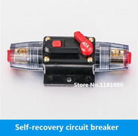 audio switching circuit - Manually Resettable Circuit Breaker Resume Breaker Fuse Holder Car Audio Power Insurance Switching Power Supply