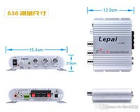 bass car amplifier - Sell like hot cakes Leipai LP Mini Super Bass Channel Stereo Computer Car Amplifier Subwoofer Out