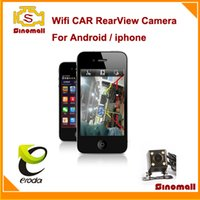 Wholesale Newest High quality Eroda etu Digital signal Wifi Rear View Car Camera rearview cam for Android phones all OS devices