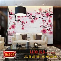Wholesale 3d Korean personality large mural wall covering wallpaper wallpaper the living room TV backdrop restaurant bedside Peach