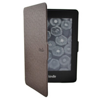 6 amazon - Leather Smart Ultra Slim Magnetic Case Cover Tablet PC Cases For Amazon Kindle Paperwhite Brown Gift