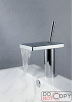 Wholesale Waterfall Faucet Faucet Bathroom Bathroom Waterfall Faucet Waterfall Sink Faucet Bathroom Sink Mixer