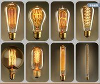 Wholesale DHL V E27 W W W Hot Selling Edision Bulbs with Anitque warm White for Club Decoration