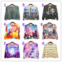 Wholesale 2016 autumn new top brand hoodies printed hoody men coat sport wear men sweatshirts