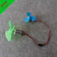 Wholesale LC7 DIY Miniature dc wind power wind turbine model demonstration teaching tool Drive the mini fan model DIY production technology