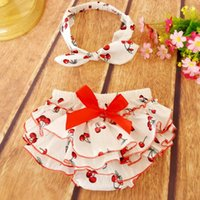 bb cover - NEW ARRIVAL baby girl kids infant toddler vintage rose flower floral bloomers shorts diaper cover BB pants bowknot headwrap headband