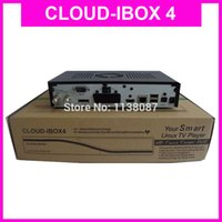 Wholesale 5pcs Newest Arrival Cloud ibox4 DVB S2 Twin Tuner Enigma2 Linux HD Decoder Cloud ibox Twin Tuner