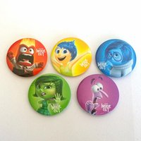 christmas brooch - Movie jewelry Inside Out Brooches models carton Badges Brooches bag pins children toys Christmas gift
