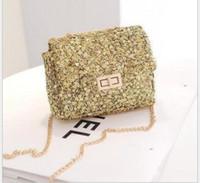 mini purses - 2015 New Fashion Children s paillette Bags Girl s PU Leather Bags Kid s Mini Purses Bag Shoulde Bags Women handbag Bag