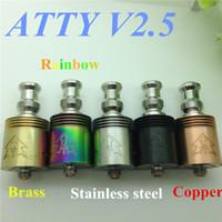 apo steel - Atty v2 atomizer RDA RBA mod tobh vaporizer stainless steel rba rebuildable atomizer rda ecig i atty vs mega clone Pontus mephisto apo