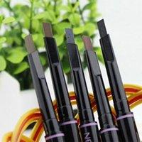 best eye drops - Best Fashion Women Makeup Cosmetic Eye Liner Eyebrow Pencil Beauty Tools Black Brown Gray Drop Shipping MU