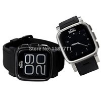 Wholesale Original phone SNOPOW W1 Smart Watch OGS Capacitive Touch Screen Waterproof Watch Phone MP Bluetooth GPRS cell phone