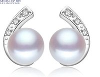 Wholesale chaming silver natural n pre color pearl lady s earings lhpmz hjggthgfh
