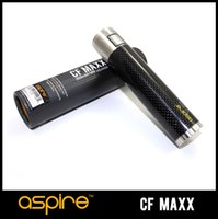 cod - Genuine Aspire CF MAXX W Mod Battery Variable Wattage W E Cigarettes mah With Security Cod Thread Aspire CF MAXX Free DHL