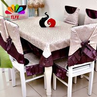bamboo table and chairs - TLFE home garden decoration Home Textile printed Wedding table cloth cover tablecloth for table and chair toalha de mesa ZB070