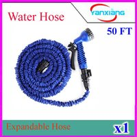 Wholesale High Quality NEW Retractable Garden Hose Water Pipe Magic Hose Expandable and Flexible Hose FT ZY SG