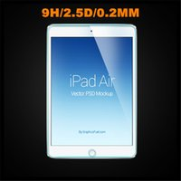 Wholesale For Apple Ipad Air ipad mini Tempered Glass Screen Protector mm Explosion Proof Guard Film with Retail Package