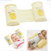Wholesale hot sell Baby Toddler Safe Cotton Anti Roll Pillow Sleep Head Positioner Anti rollover new baby product
