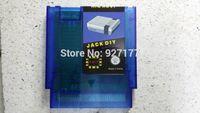 Wholesale jack diy nes game flash cartridge P Blue transparent shell