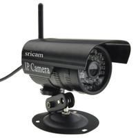 al por mayor cámaras de internet-WiFi Webcam al aire libre impermeable inalámbrico / cableado de red IP cámara de Internet de vigilancia de seguridad de visión nocturna