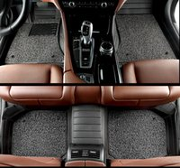 auto carpet - 5D multifunctional fullsurrounded leather Car floor mats for VOLVO S40 striped seprately use auto carpets Interior accessories