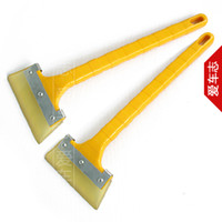 big muscle cars - Big dipper thickening cow muscle scraper car window glass wiper plate film tools water scraping lengthen handle
