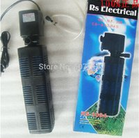 Wholesale Aquarium filter built in RS3004 three in one oxygen tank with built in filter