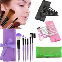 beauty essentials brushes - 7pcs Set Makeup Brushes Professional Set Cosmetics Brand Makeup Brush Tools Foundation Brush For Face Make Up Beauty Essentials