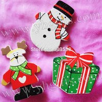 Wholesale 300PCS Christmas snowman stickers design X mas Wall stickers Indoor christmas decoration Home ornament Xmas crafts