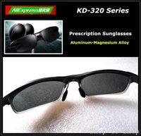 ar coated glass - Driver Sunglasses Men Myopia Glasses with Polarized Prescription HMC Green AR Coating Backside KD Series