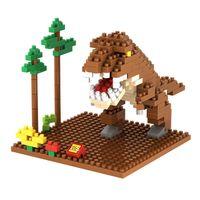 best dinosaur toys - Jurassic Park dinosaur Tyrannosaurus Animal model plastic D Diamonds building block brick boys kids educational toy LOZ9485 Best Gift