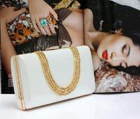 Diseñador de moda de diamantes anillo de dedo del leopardo de impresión de hombro del embrague bolsos de tarde del embrague del bolso de lujo para el partido de la boda del envío libre ZYY