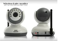 Wholesale 2 quot TFT Wireless Digital Baby Monitor IR Video Talk one Camera Night Vision video Baby Monitor